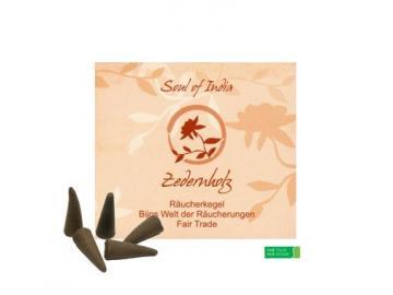 Zedernholz Räucherkegel Fair Trade