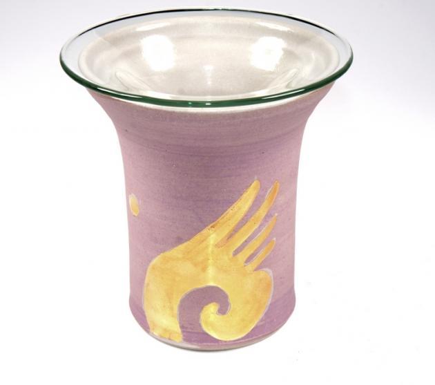Duftlampe Engelsflügel lila