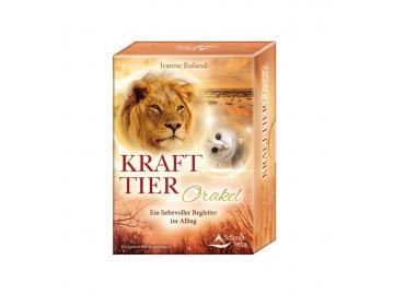 Krafttier Orakel - Kartenset   Jeanne Ruhland