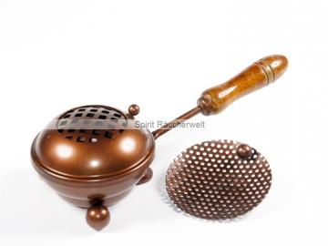 Räucherpfanne / Weihrauchpfanne kufper - klein 8cm