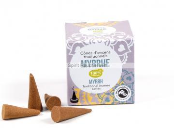 Myrrhe Räucherkegel von Aromandise