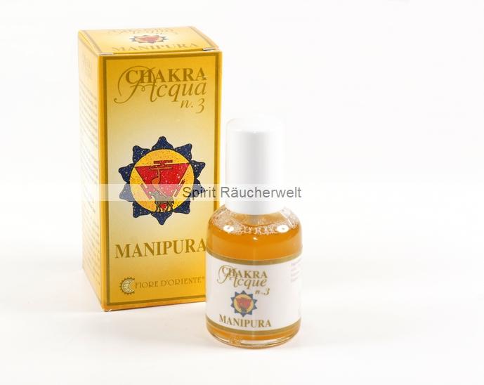 3. Chakra - Solarplexus Chakra - Aura Spray von Fiore D Oriente - 100% natürliche Zutaten