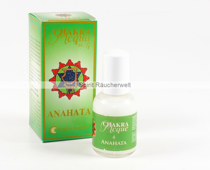 4. Chakra - Herz Chakra - Aura Spray von Fiore D Oriente - 100% natürliche Zutaten
