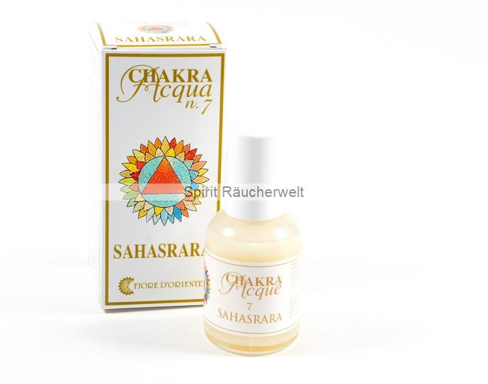 7. Chakra - Kronenchakra - Aura Spray von Fiore D Oriente - 100% natürliche Zutaten