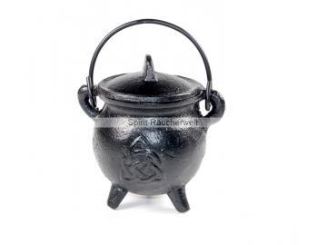 Räucherkessel - Hexenkessel - Caldron keltischer Knoten | Räuchergefäß - Ritualbedarf