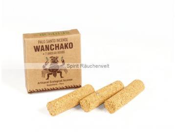 Palo Santo - Wanchako mit 7 Kräutern | Räucherstäbe  - Röllchen