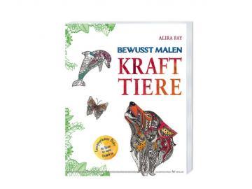 Buch   Krafttiere - Bewusst Malen   Alira Fay