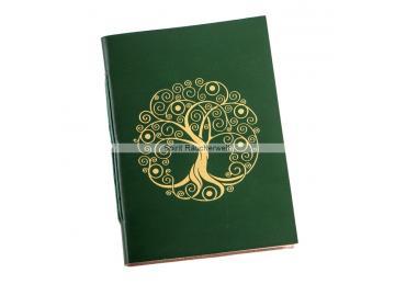 Buch der Schatten - mit Baum des Lebens   Notizbuch - Schattenbuch selber machen
