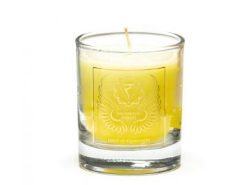 Erzengel Jophiel - Engelkerze  Votiv Kerze - Duftkerze  im Glas
