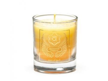Erzengel Chamuel - Engelkerze  Votiv Kerze - Duftkerze  im Glas