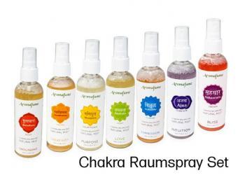 Raumspray - Lufterfrischer Chakra - Set aus 100% natürlichen Zutaten