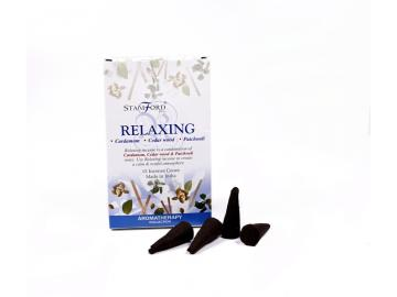 Relaxing Aromatherapy Räucherkegel   Stamford