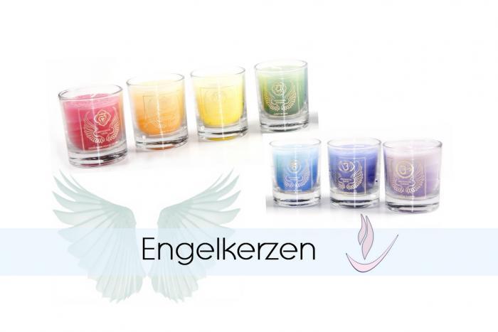 Engelkerzen im Glas - Duftkerzen