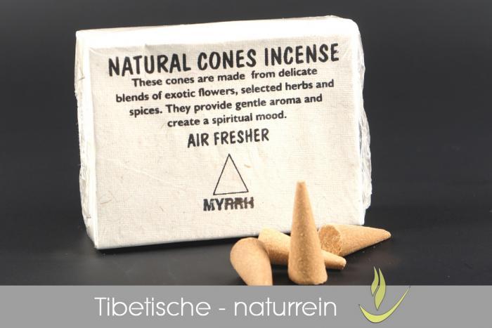Tibetische Räucherkegel - naturrein - kaufen