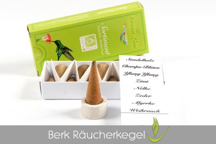 Berk Green Line Räucherkegel naturrein kaufen