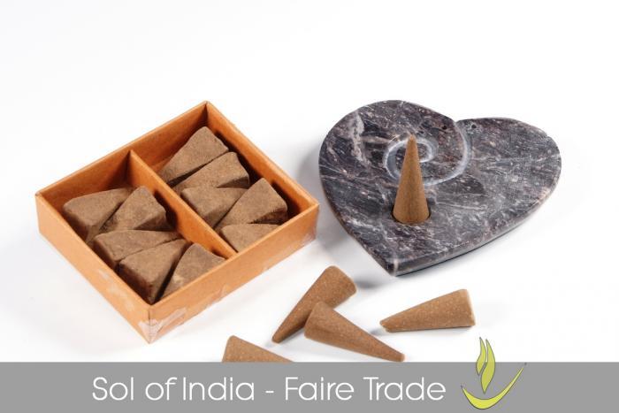 Sol of India Räucherkegel - faire Trade - kaufen