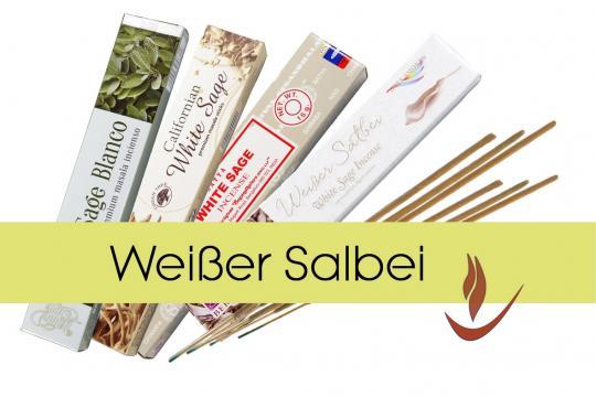 Weißer Salbei - White Sage Räucherstäbchen