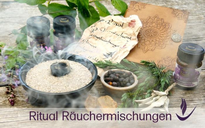 Ritual Ru00e4uchermischungen von Spirit Ru00e4ucherwelt