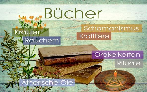Bücher schamanischmus räuchern ätherische öle orakelkarten kraftiere energetische Hausreinigung