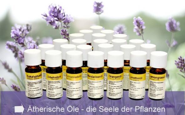 naturreine ätherische Öle  Anwendung und Wirkung