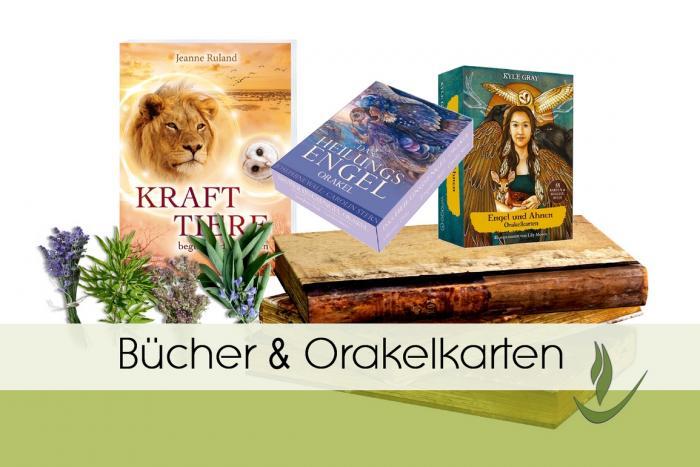 Bücher übers Räuchern, Orakelkarten Engelkarten