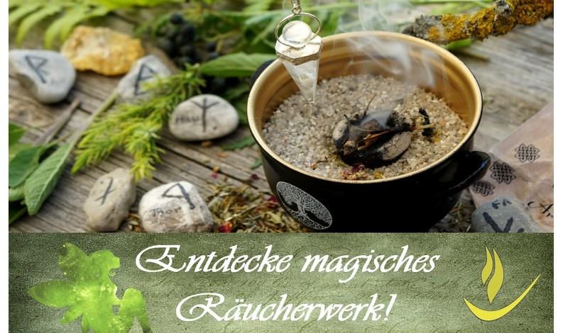 schamanische Räuchermischungen - Räucherfächer & Räucherfedern